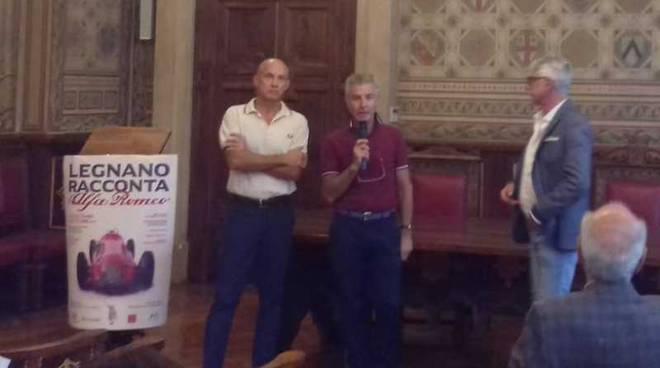 Presentazione Legnano racconta Alfa Romeo
