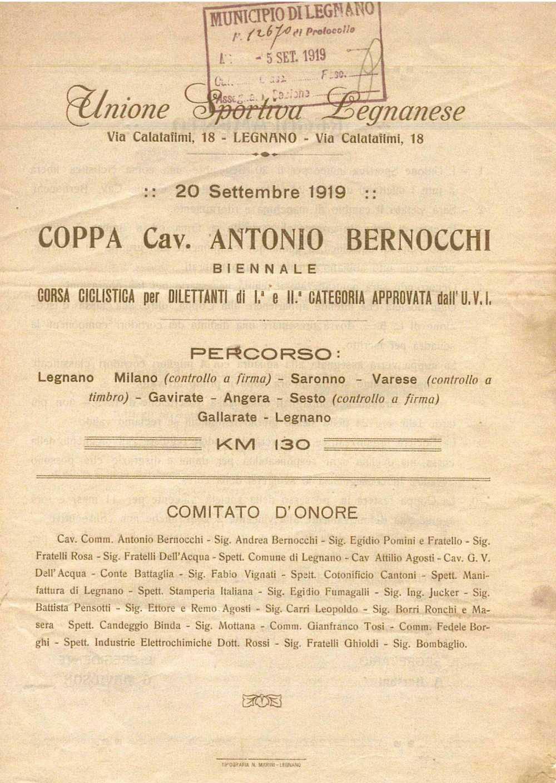Prima edizione del 1919