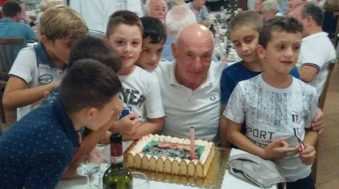 Ricky Talarini festeggia il compleanno