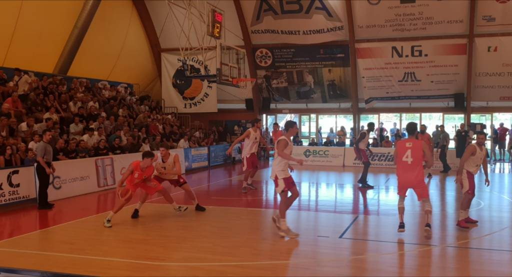 Sangiorgese - Knights Legnano 68-81