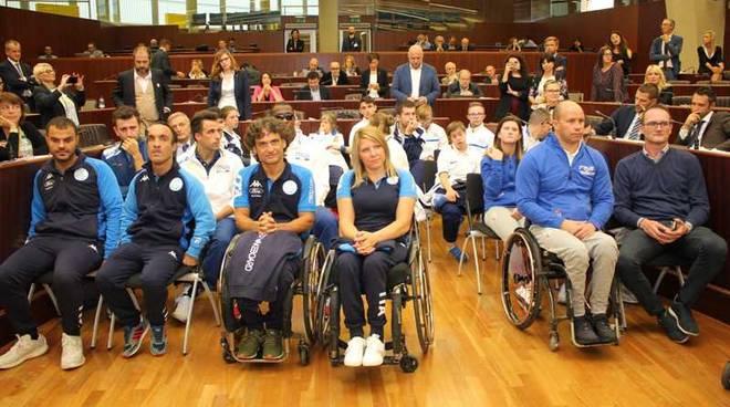 Atleti paraolimpici Lombardia