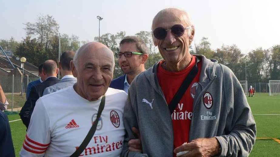 """Canegrate, Ricky Talarini e Pierino Prati all'inaugurazione del """"Pertini"""""""