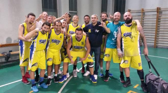 Siderea Basket Legnano vola in testa al campionato Kapo League UISP
