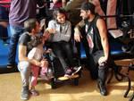 I ragazzi dell'Anffas Legnano invitati a Parabiago dal Shark Fighter Team
