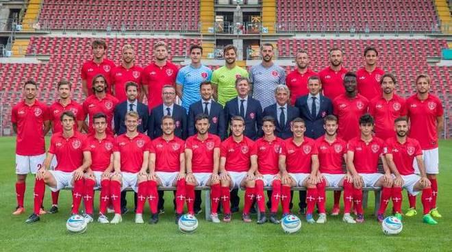 L'arconatese Andrea Marzola in gol col Triestina