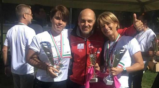 Laura Colombo ed Emanuela Zugno hanno conquistato i titoli italiani nel nordic walking