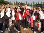 Le sincronette Rari Nantes Legnano al Camp Tecnico di Monza