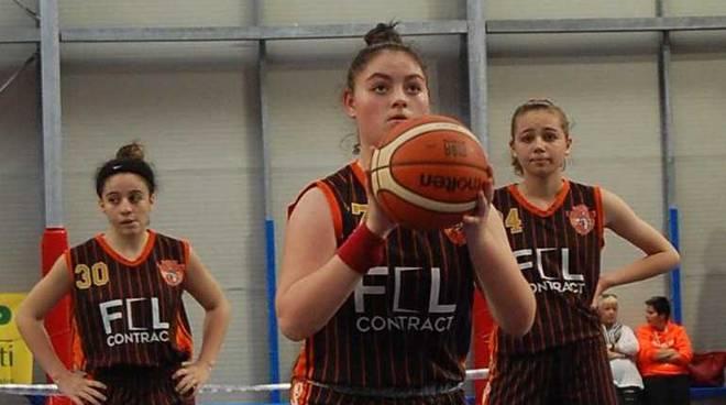 Serena Aloisi Bulldog Basket Canegrate Under 16