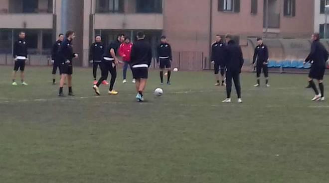 Allenamenti A.C. Legnano campo Via Parma