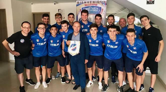Azzurrini Under 20 della Federazione Italiana Football Sala