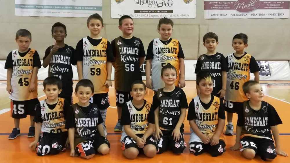 Bulldog Basket Canegrate settore giovanile