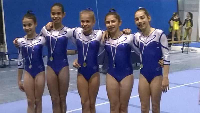 Ginnastica Perseverant Legnano le Allieve Gold volano alle finali nazionali