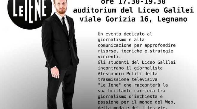 Iena docens, Le Iene in cattedra al Liceo Galilei di Legnano