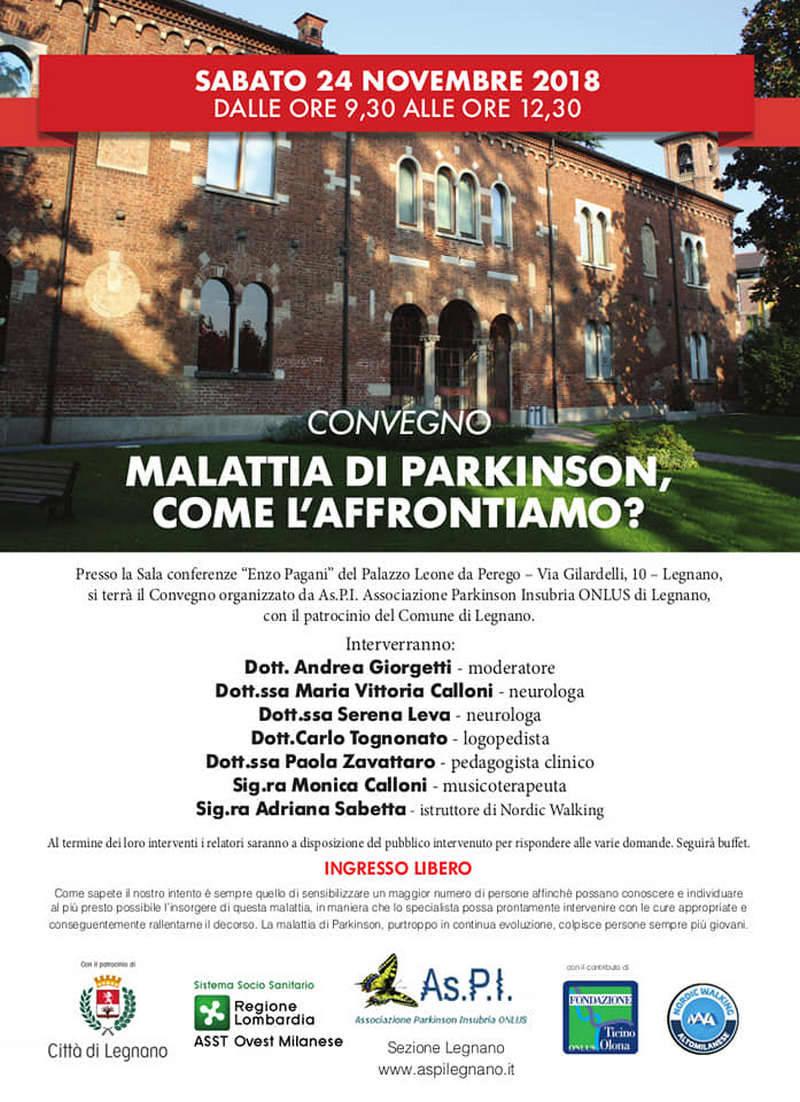 Malattia di Parlinson, come l'affrontiamo?