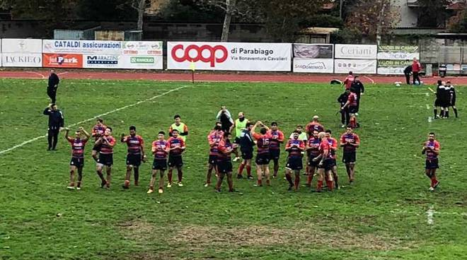 Rugby Parabiago - Rugby Biella 27-24