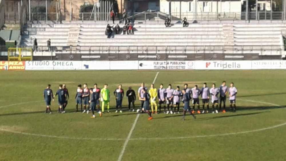Amichevole Legnano-Borgomanero 4-1