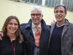 Elisa Porchi, Franco Colombo e Claudio Calamisura