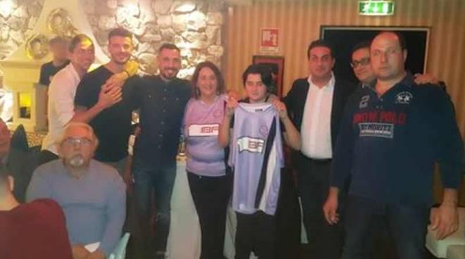 Festa di Natale alla Discoteca Fellini per il Legnano Calcio