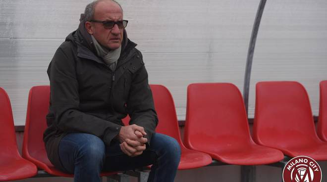 Milano City FC - Mister Ezio Rossi