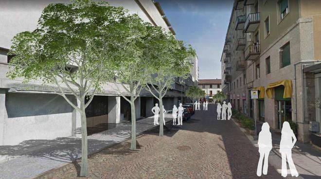 Riqualificazione della Zona a Traffico Limitato allargata del centro di Legnano