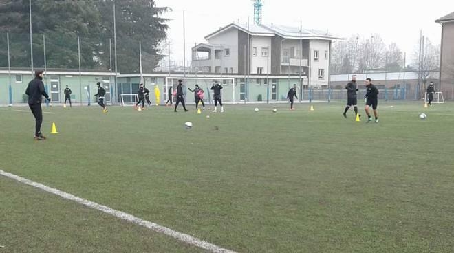 A.C. Legnano in allenamento