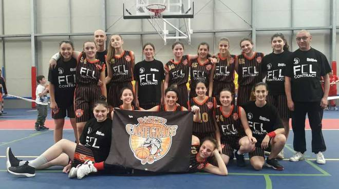 Bulldog Basket Canegrate Basket Femminile Under 16
