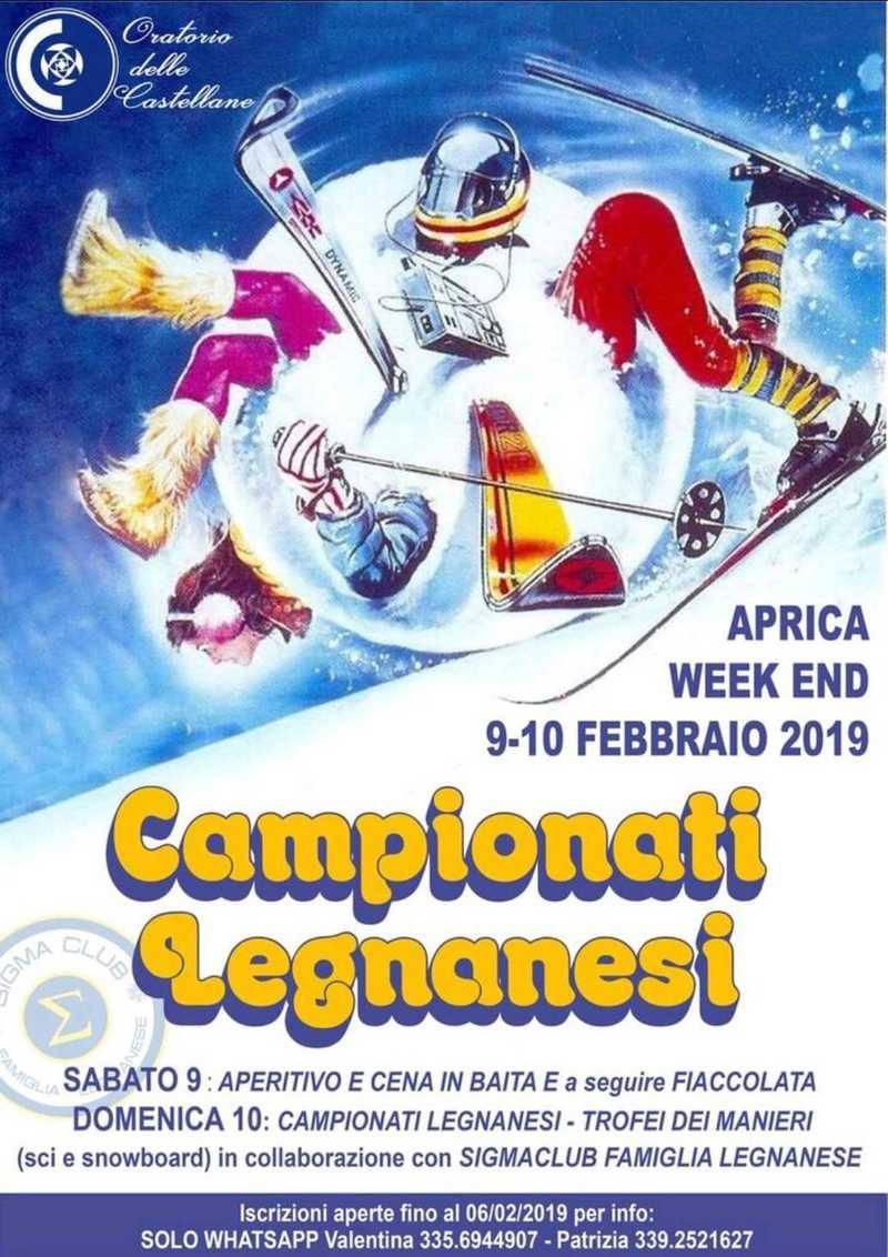 Campionati Legnanesi di Sci Aprica 2019