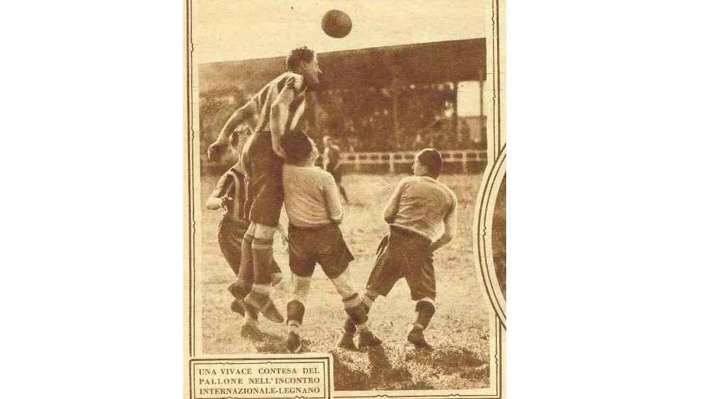 Campionato di Prima Divisione Nord Girone A 1925/26 IX giornata di ritorno 20 giugno 1925 Legnano-Internazionale 1-1