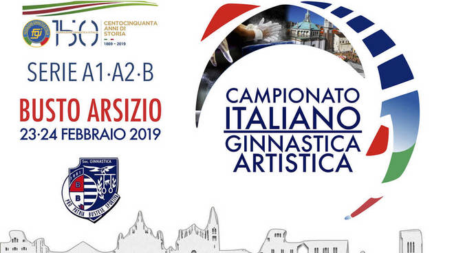 Campionato Italiano Ginnastica Artistica Busto Arsizio