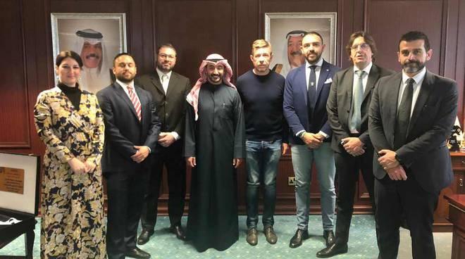 CONDIVIDI SU FACEBOOK  0 Knights e Galletti insieme per esportare lo sport italiano in Kuwait