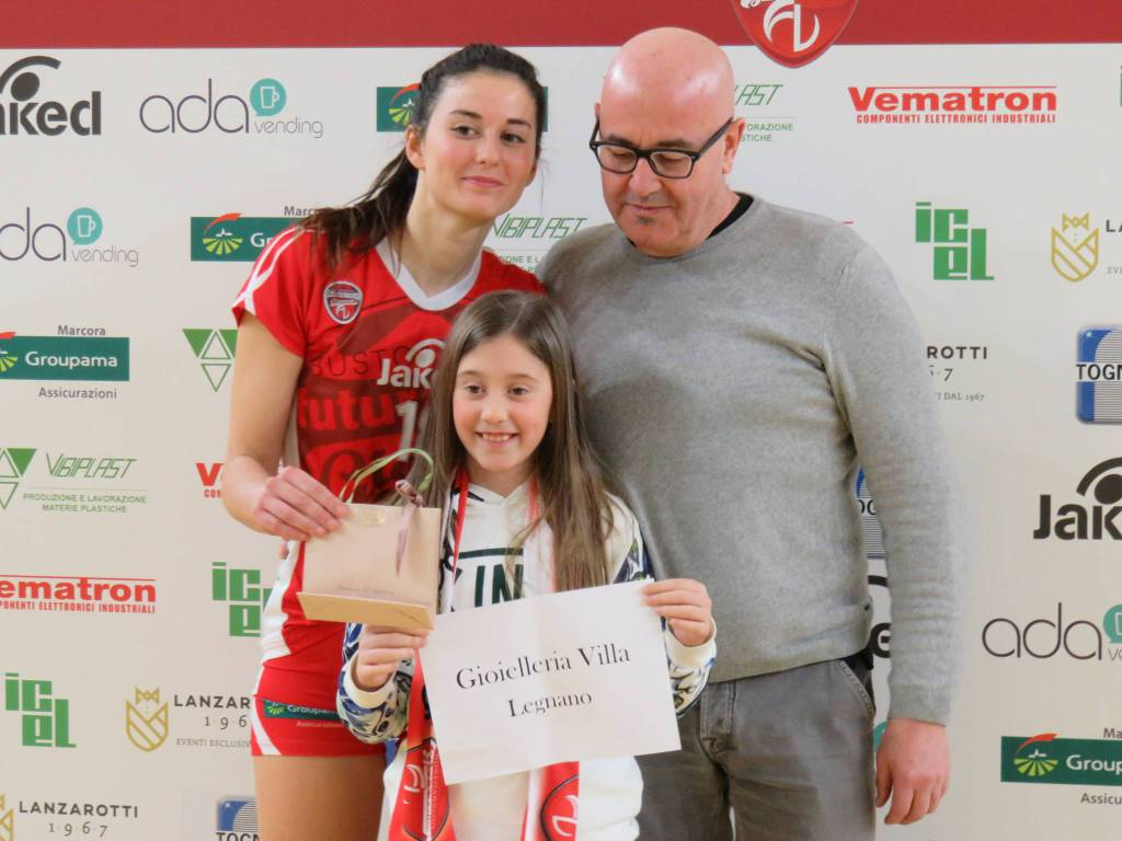 Futura Volley Giovani-SDV Tempocasa Varese 3-1