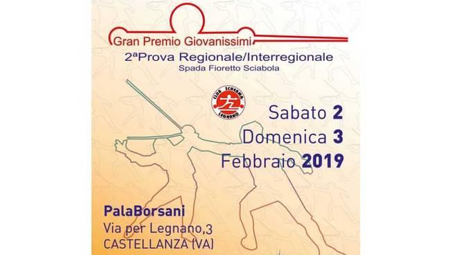 Gran Premio Giovanissimi di Scherma al PalaBorsani