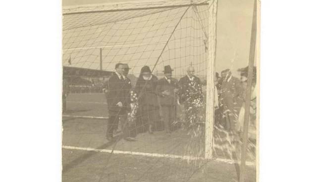 Inaugurazione Stadio Pisacane Legnano 2 ottobre 1922