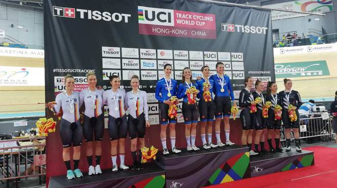 Martina Alzini medaglia d'oro in Coppa del Mondo ad Hong Kong