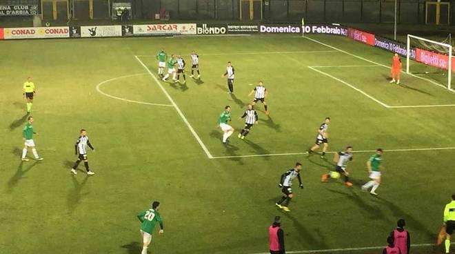 Robur Siena - Pro Patria 1-0