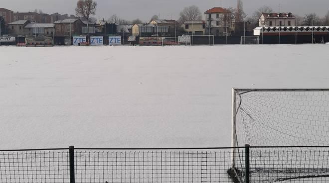 Alcione-Legnano rinviata per la neve