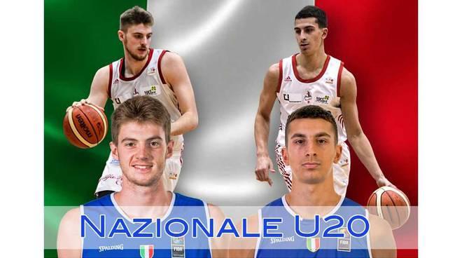 Bortolani e Serpilli in Nazionale Under 20 di basket