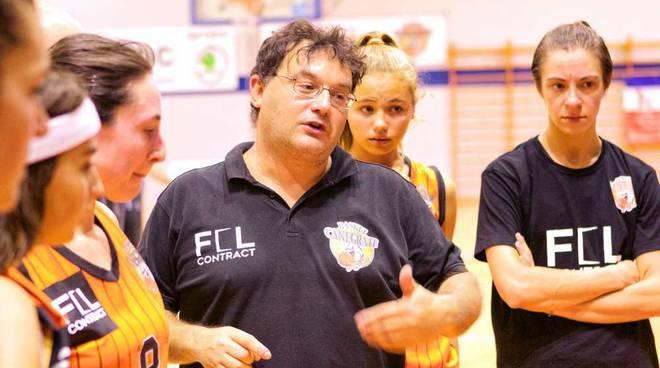 Bulldog Basket Canegrate Coach Fabrizio Molteni