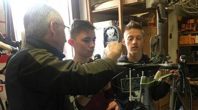 Corso di meccanica per i giovani corridori del GS Rancilio