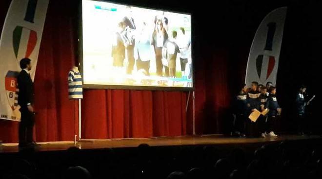 Festeggiato il centenario della Pro Patria al Teatro Sociale di Busto Arsizio