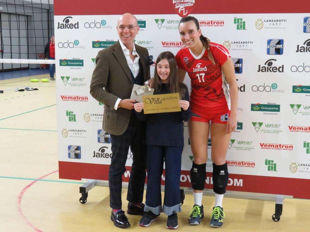 Futura Volley Giovani-Pneumax Lurano 3-0