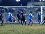 Il gol del pareggio dell'A.C. Legnano segnato da Davide Mazzini contro la Sestese