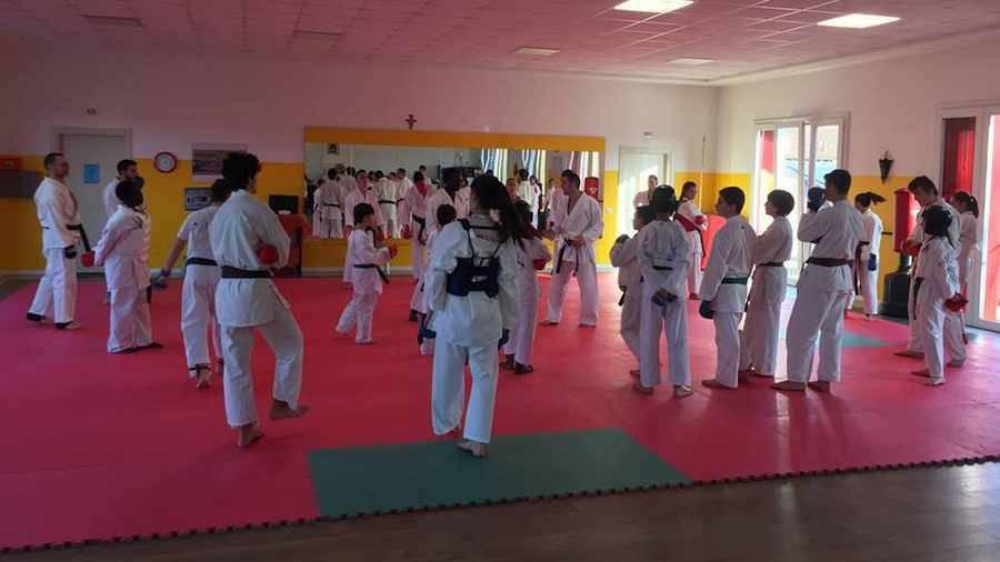Il Kankudojo Arti Marziali Parabiago al Centro Tecnico Regionale di Karate