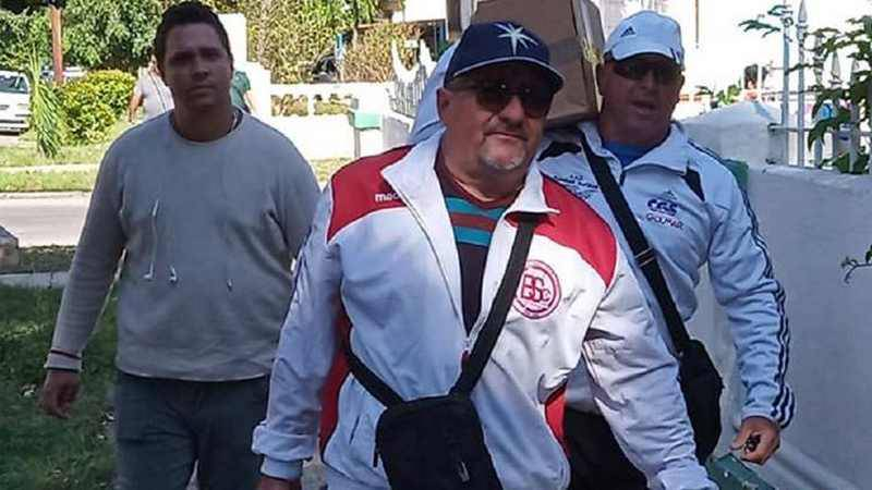 Javier Mendez Coach Legnano Baseball Softball