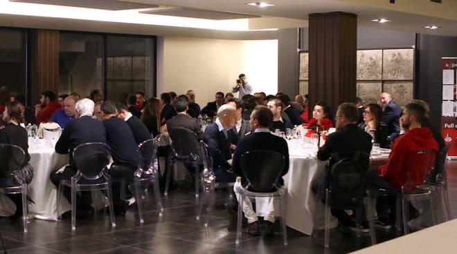 Knights Legnano Basket e Fineco una riuscita serata dedicata agli sponsor a Villa Jucker Legnano