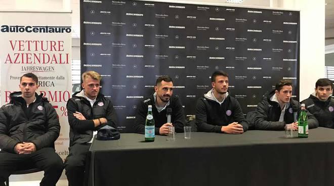 La conferenza stampa al termine di Legnano-Ardor Lazzate 1-0