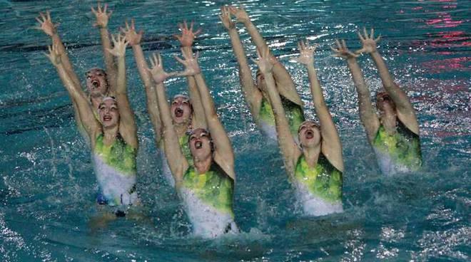 La Rari Nantes Legnano ai Campionati italiani assoluti di nuoto sincronizzato Riccione
