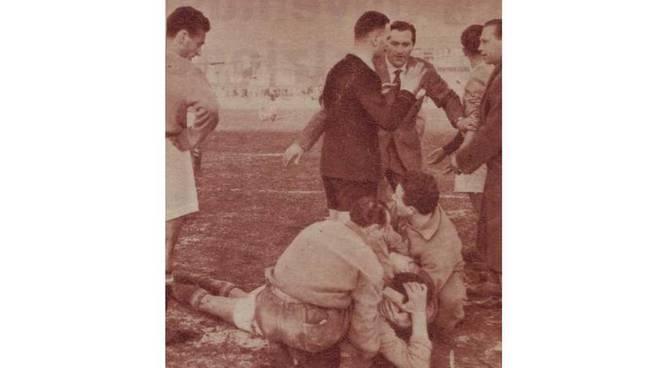 Legnano-Bologna e l'arbitro Tassini