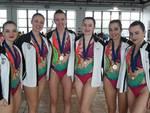 Medaglia d'oro per le sincronette Rari Nantes Legnano