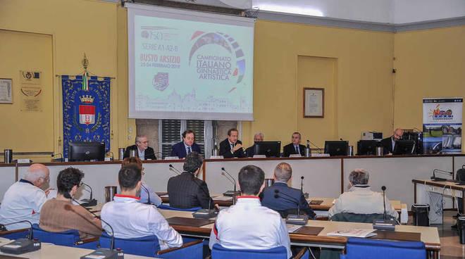 Presentato a Busto Arsizio il Campionato Italiano 2019 di Ginnastica Artistica maschile e femminile di Serie A1, A2 e B